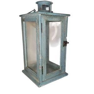 Marshalls Blue Distressed Style Lantern